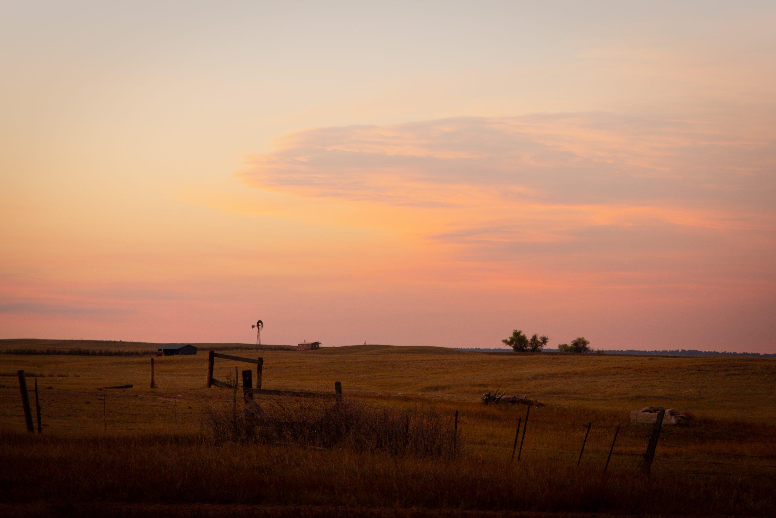 Sunset Outside Colorado Springs